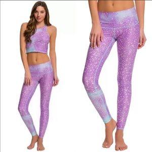 📌Teeki Mermaid FairyQueen Lavender Yoga Leggings